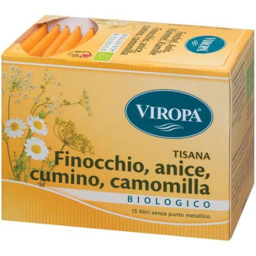 VIROPA - Finocchio, Cumino, Anice, Camomilla - 15 filtri