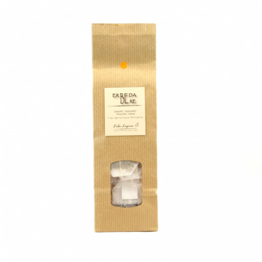 ERBA LOGICA - Erbe da bere - pallino arancione - 15 filtri
