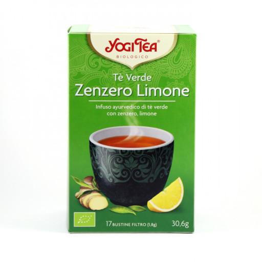 Tè Verde Zenzero Limone - 17 bustine filtro