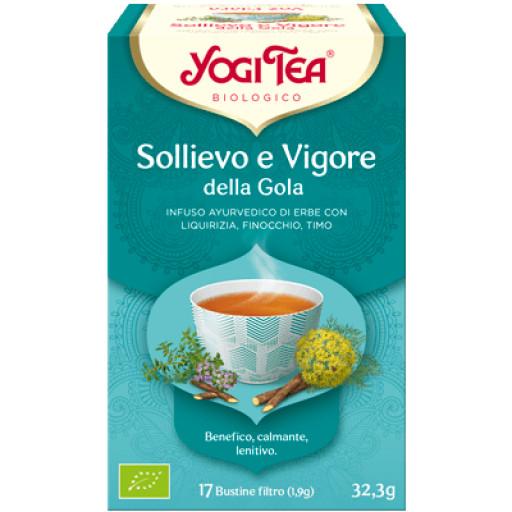 YOGI TEA - Sollievo e Vigore della Gola - 17 bustine filtro