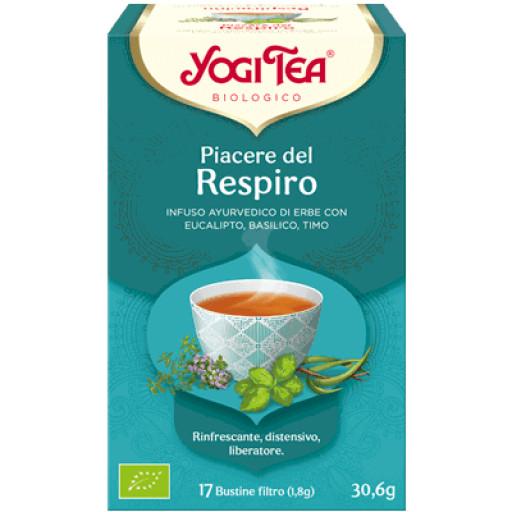 YOGI TEA - Piacere del Respiro - 17 bustine filtro