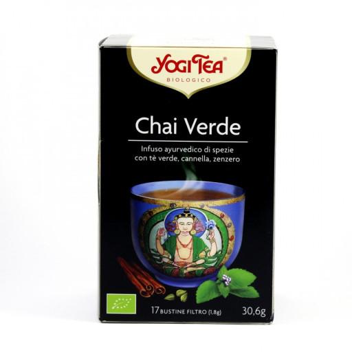 YOGI TEA - Chai Verde - 17 bustine filtro