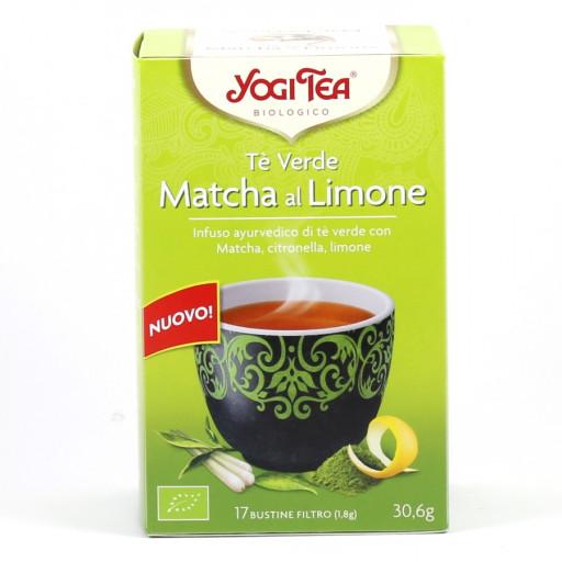 YOGI TEA - Tè Verde Matcha al Limone - 17 bustine