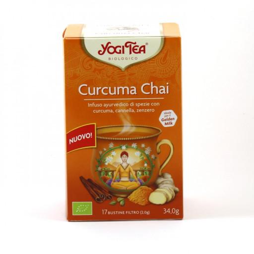 YOGI TEA - Curcuma Chai - 17 bustine