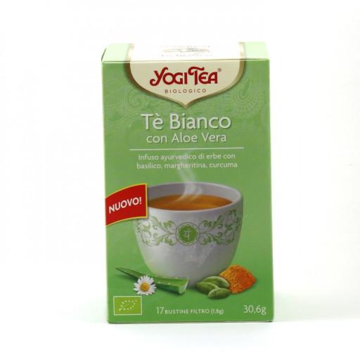 YOGI TEA - Tè Bianco con Aloe vera - 17 bustine