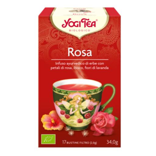 YOGI TEA - Rosa - 17 filtri