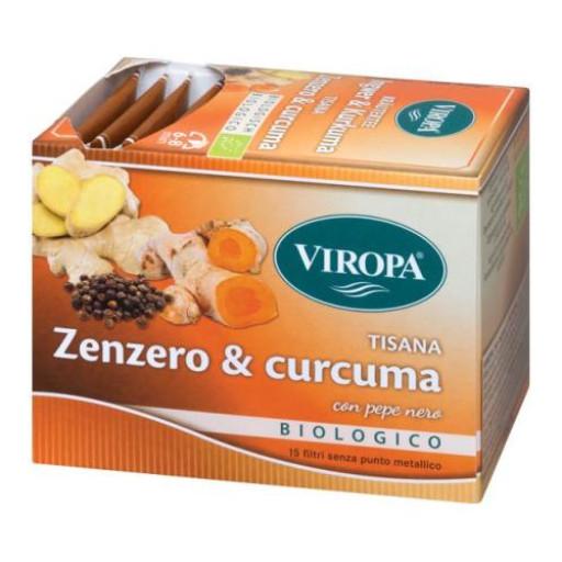 VIROPA - Zenzero & Curcuma con Pepe nero - 15 filtri