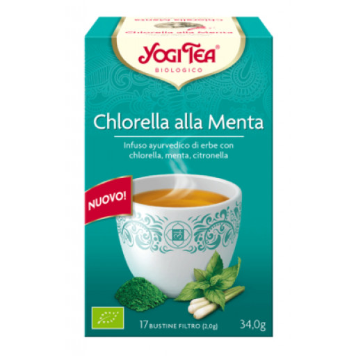 YOGI TEA - Chlorella alla Menta - 17 filtri