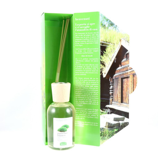 HELAN - Muschio Bianco Bastoncini aromatici - Linea I Profumi della Casa - 250ml