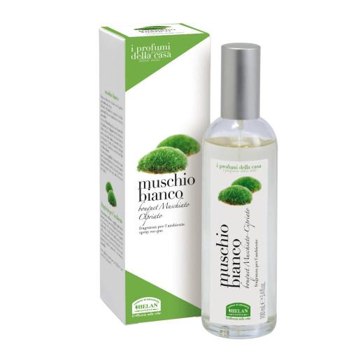 HELAN - Muschio bianco fragranza per l'ambiente spray - Linea I Profumi della Casa - 100ml