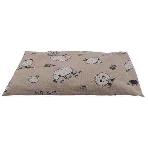 VITA dr. VEGNI - Cuscino piccolo con noccioli di ciliegia - fantasia Pecore