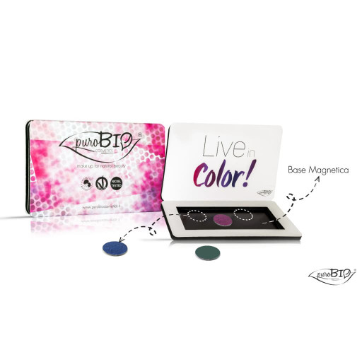 PUROBIO COSMETICS - Palette Live in Color - 8 cialde