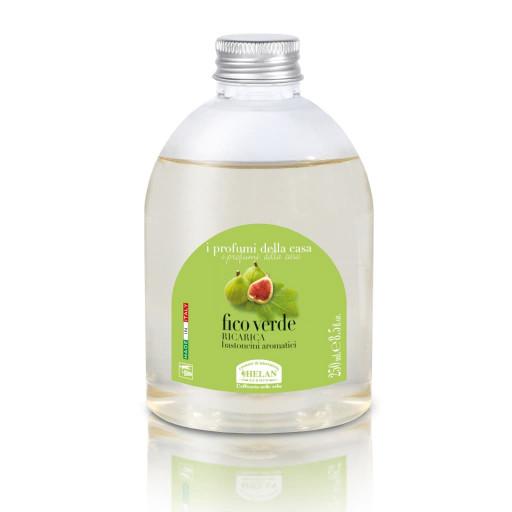 HELAN - Fico Verde Ricarica bastoncini aromatici - Linea I Profumi della Casa - 250ml