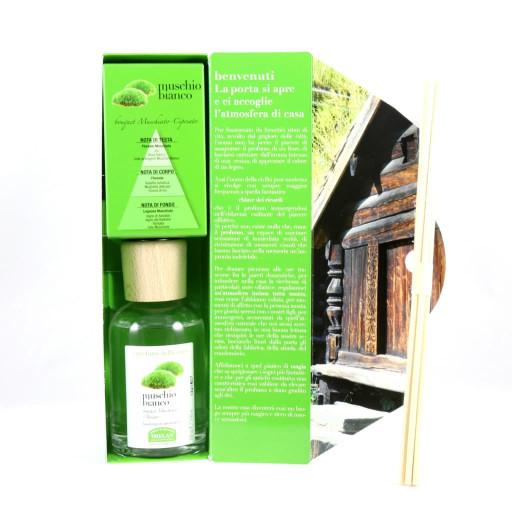 HELAN - Muschio Bianco Bastoncini aromatici - Linea I Profumi della Casa - 100ml