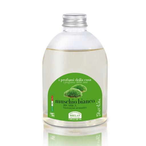 HELAN - Muschio Bianco Ricarica bastoncini aromatici - Linea I Profumi della Casa - 250ml