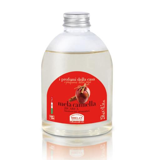 HELAN - Mela Cannella Ricarica per bastoncini aromatici - Linea I Profumi della Casa - 250ml