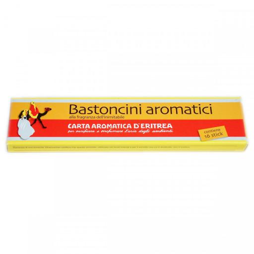 CARTE D'ERITREA - Bastoncini Aromatici - Carta Aromatica d'Eritrea - 16 stick