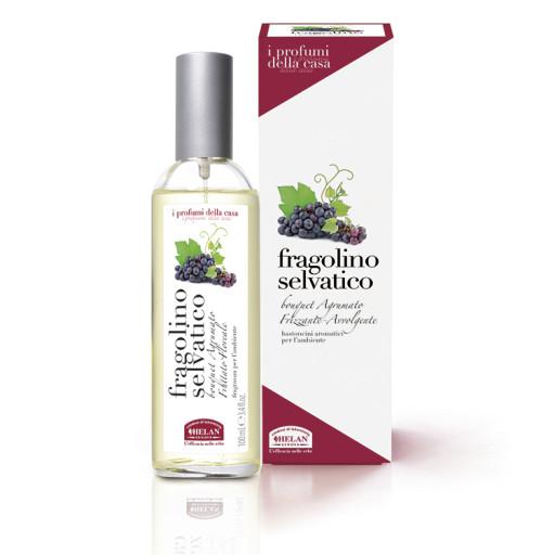 HELAN - Fragolino Selvatico fragranza spray per ambiente - Linea I Profumi della Casa - 100ml