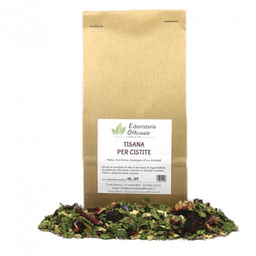 ERBORISTERIA OFFICINALE - Tisana per cistite - 100gr