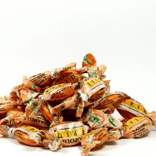 SPECCHIASOL - Caramelle alla Rosa Canina gusto Arancio - Linea Epid - Sacchetto 200gr