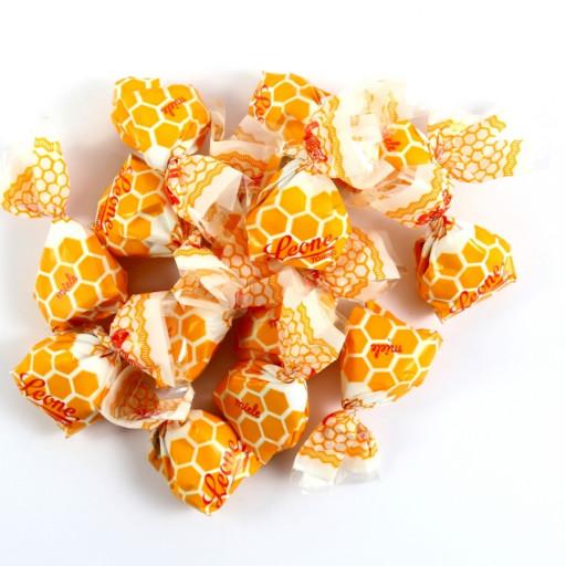 PASTIGLIE LEONE - Caramelle ripiene al Miele - Sacchetto 500gr